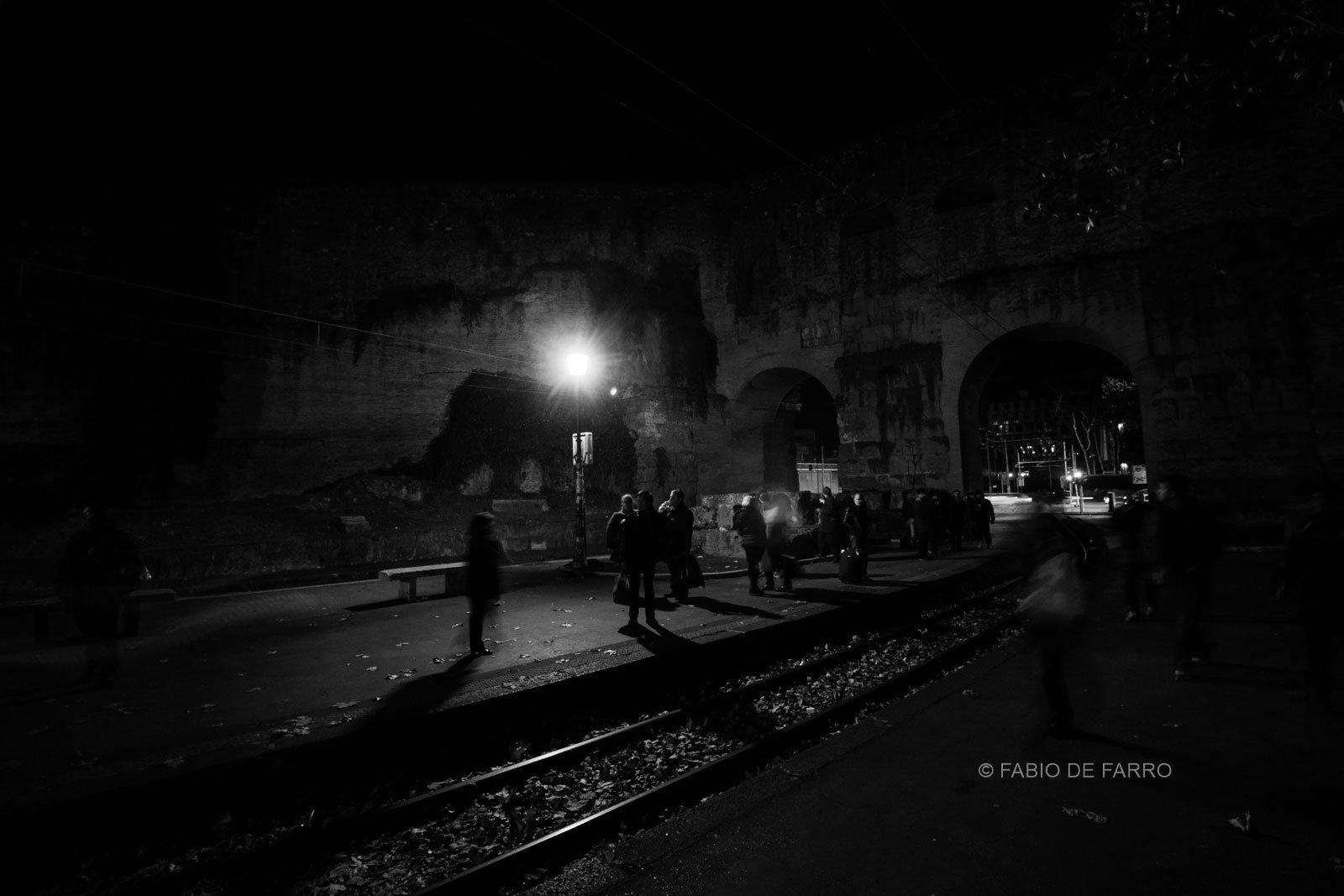 Dark Urban Scene Rome